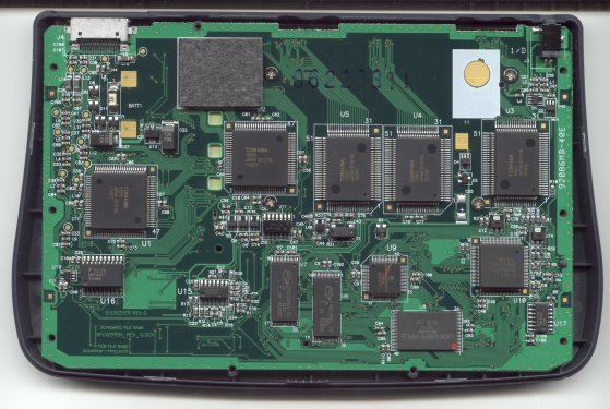 Voyage™ 200 Circuit Board Back View